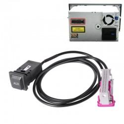 Cable AUDI AUX 32-pin...